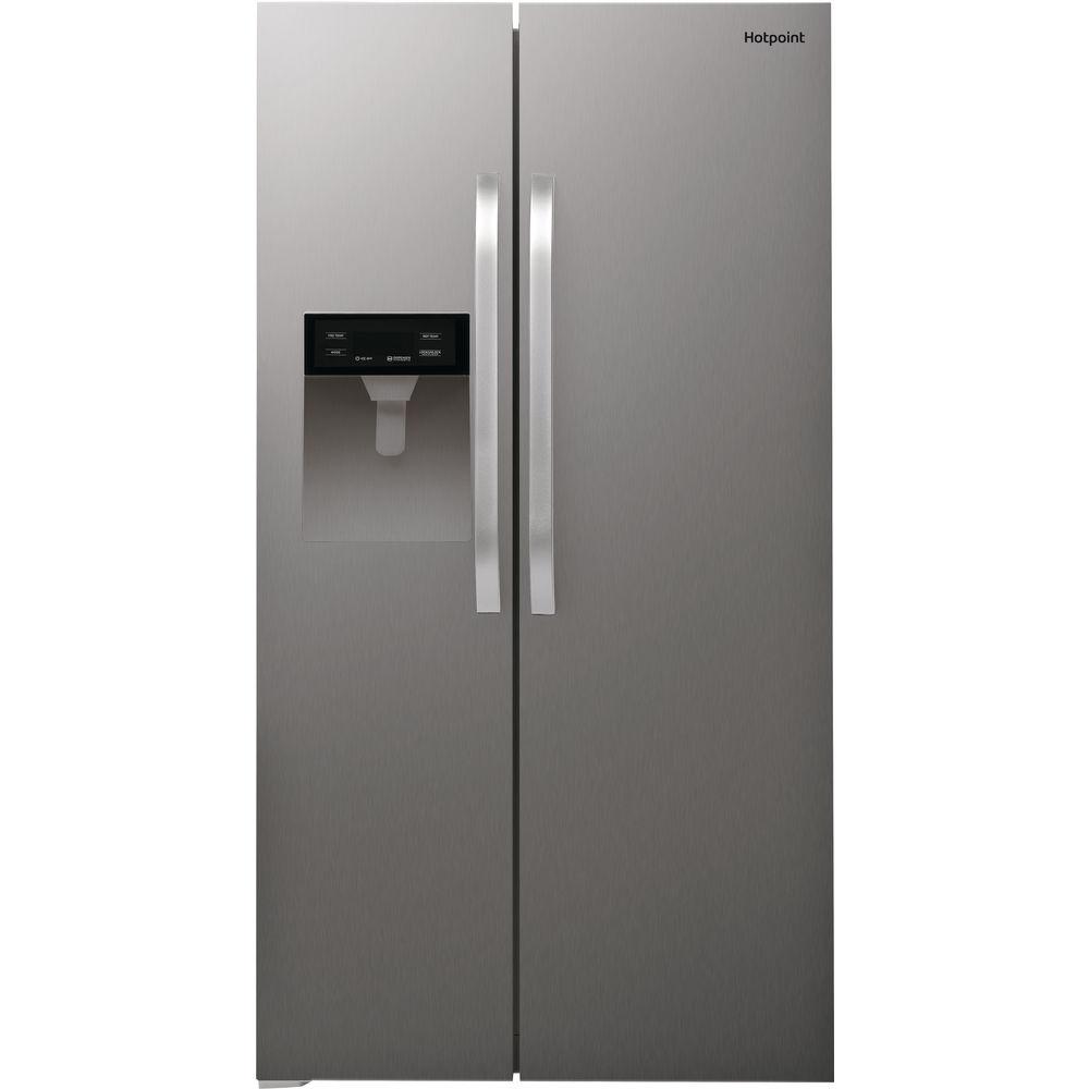 Hotpoint Day 1 SXBHAE 924 WD Fridge Freezer - Stainless Steel