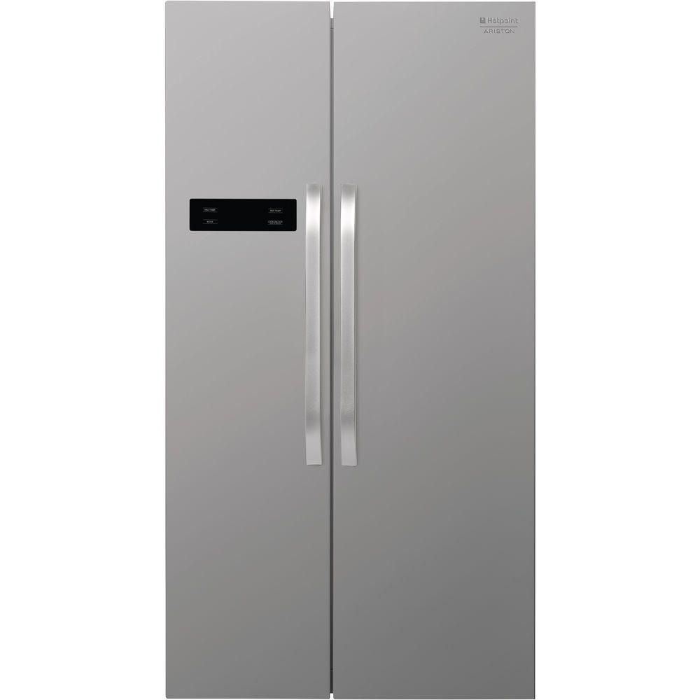 colore argento: Frigorifero americano Hotpoint - SXBHAE 930 ...