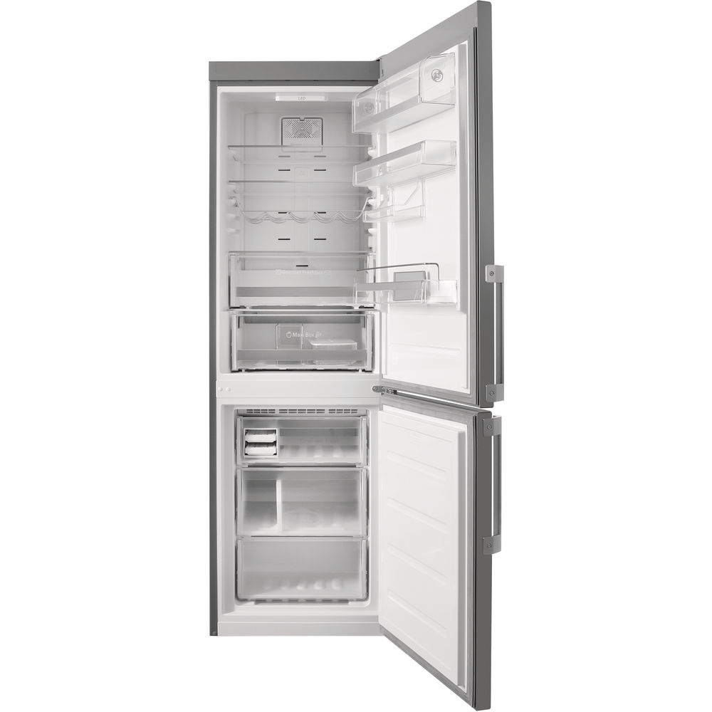 Hotpoint Day 1 SMP9 D2Z X H Fridge Freezer - Stainless Steel