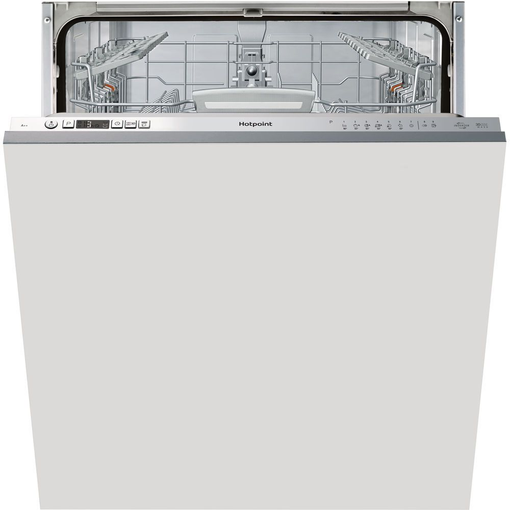 Hotpoint Care Plus HIO 3C26 W Integrated Dishwasher