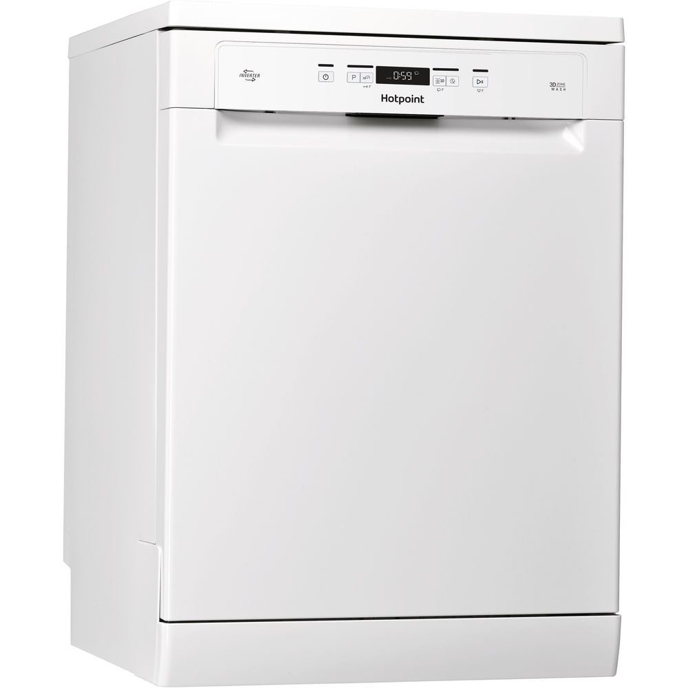 Hotpoint Care Plus HFO 3T222 WG Dishwasher - White
