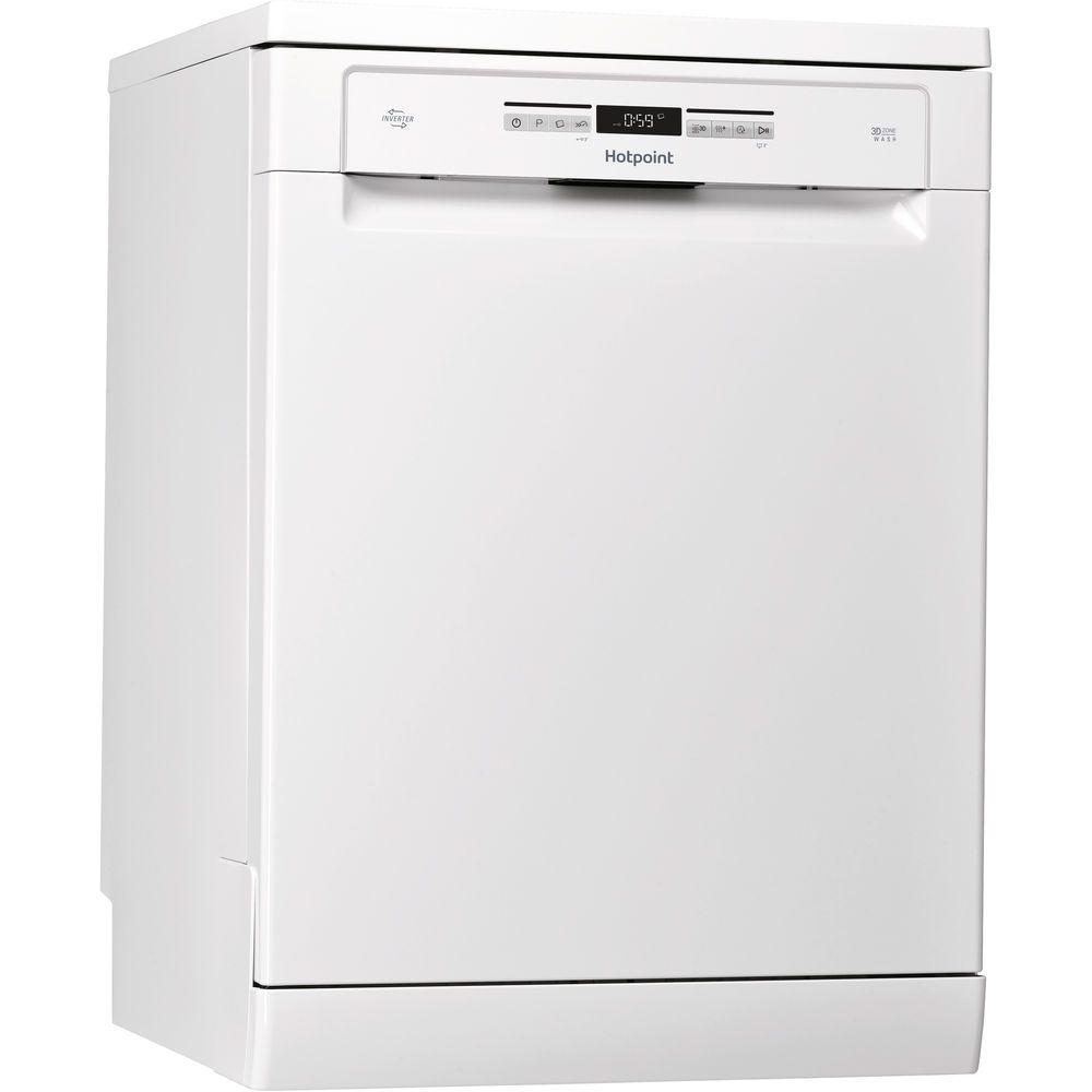 Hotpoint Care Plus HFO 3O32 WG C Dishwasher - White
