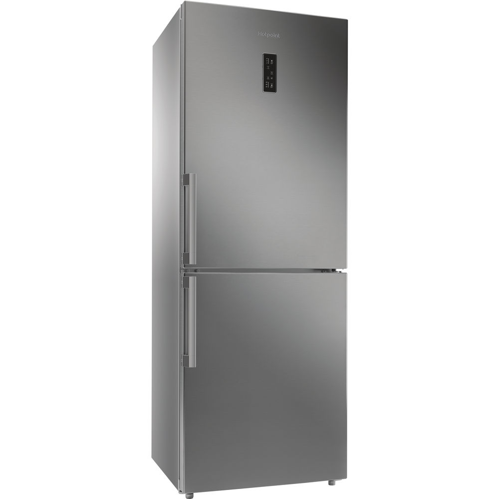Hotpoint Day 1 NFFUD 191 X Fridge Freezer - Stainless Steel
