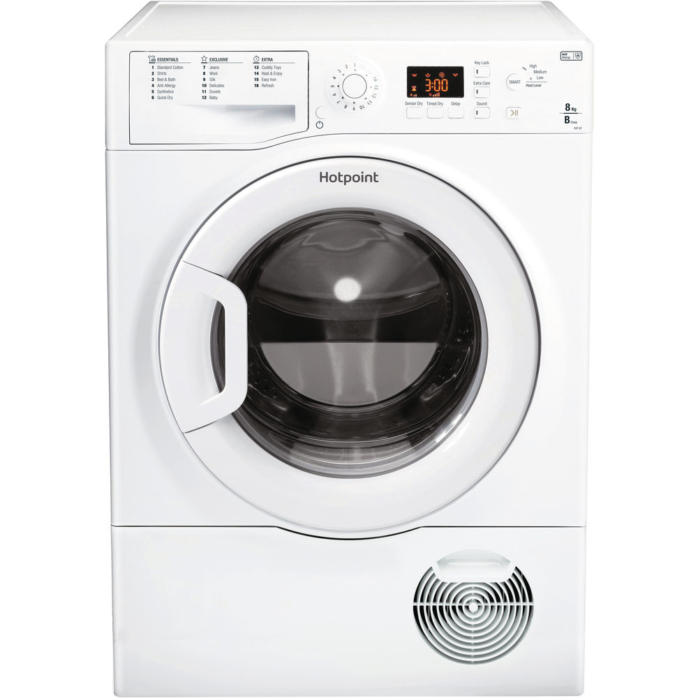 Hotpoint Aquarius ECF 87BP Tumble Dryer - White