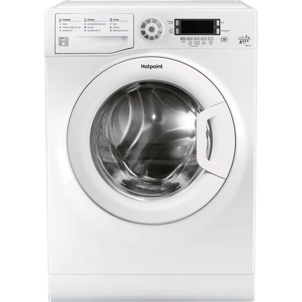 Hotpoint CarePlus WMAOD 743P washing machine - White