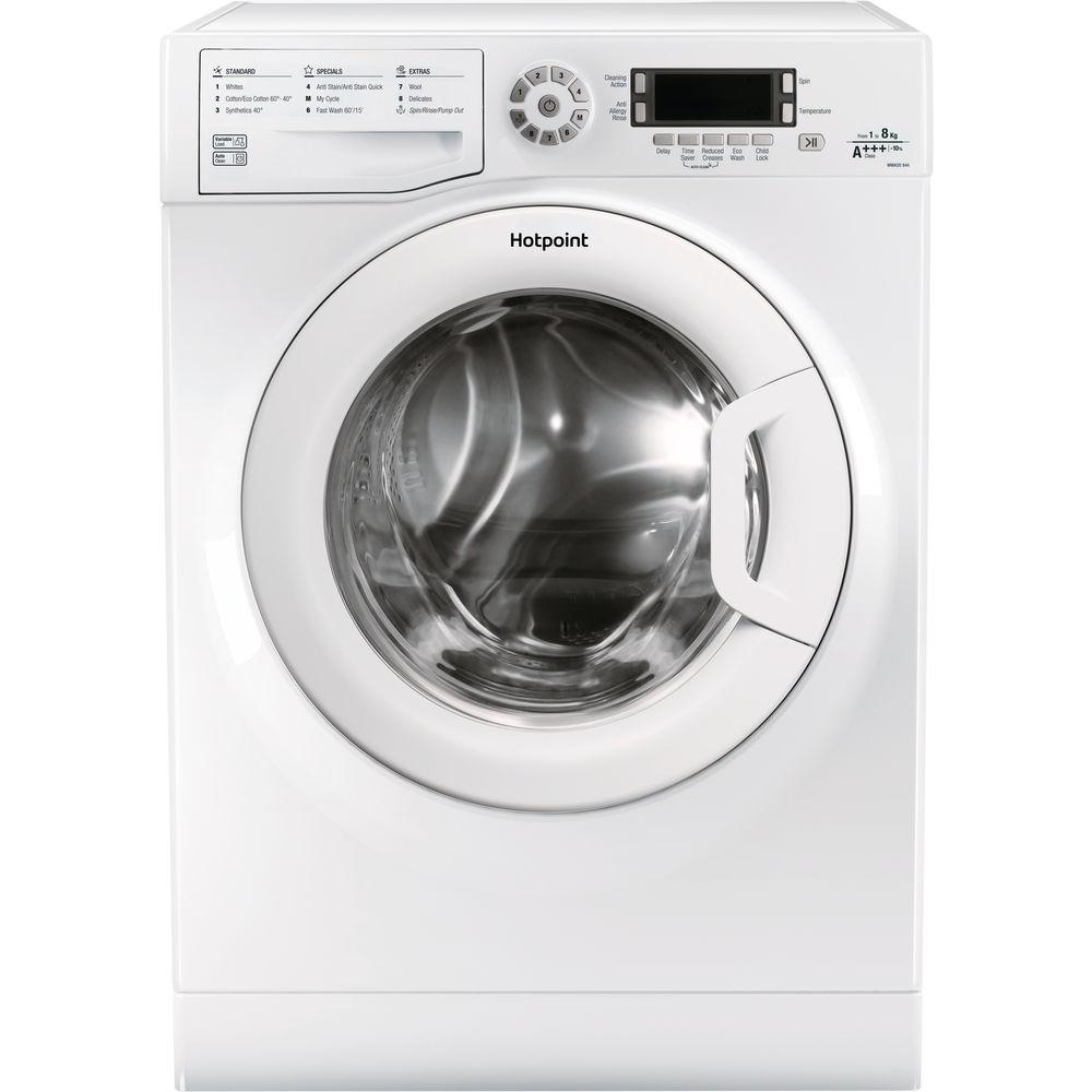 Hotpoint CarePlus Washing Machine WMAOD 844P - Black