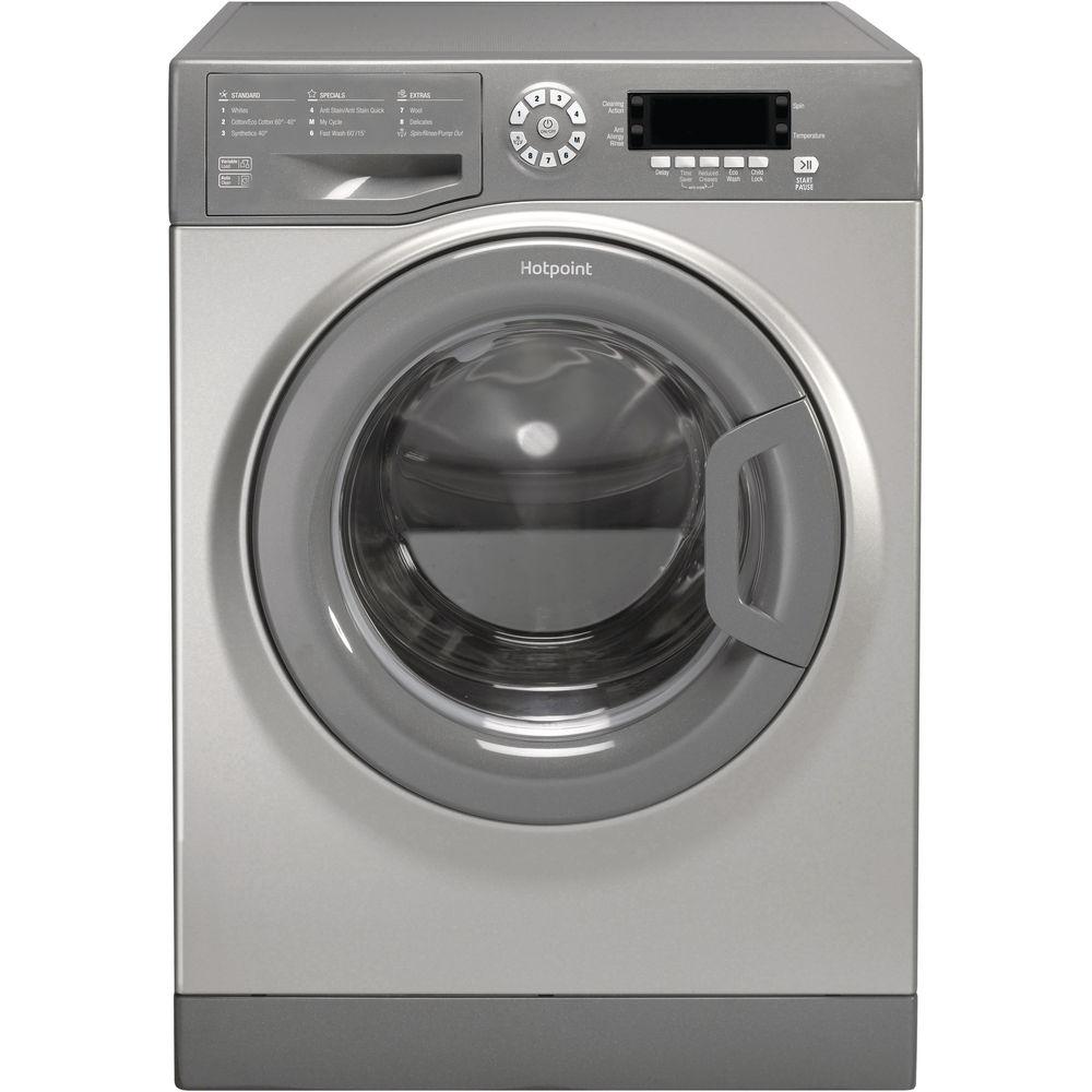 Hotpoint CarePlus Washing Machine WMAOD 844G - Graphite