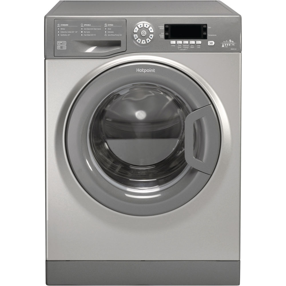 Hotpoint CarePlus Washing Machine WMAOD 944G - Graphite