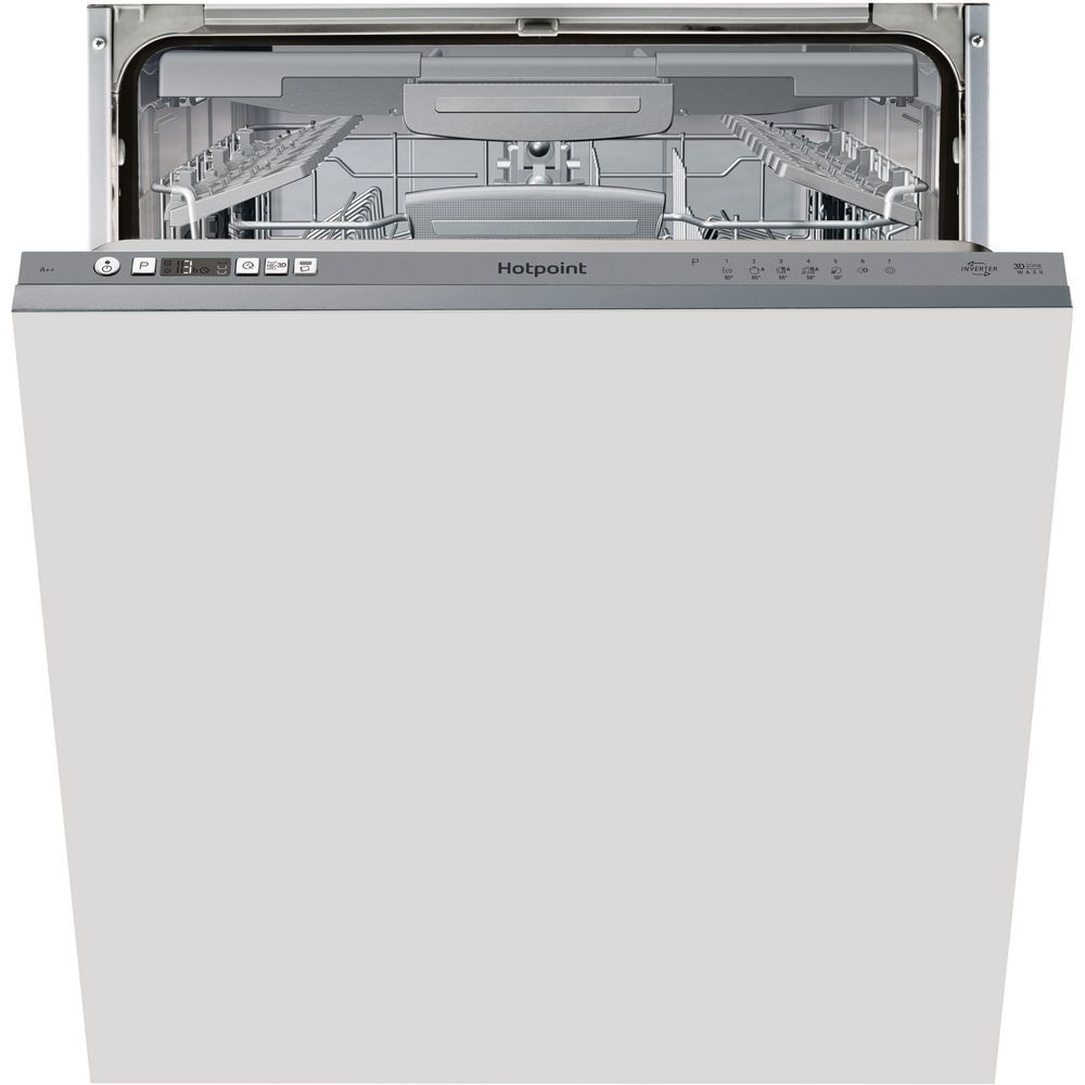 Hotpoint Ultima HIC 3C26 W F Integrated Dishwasher
