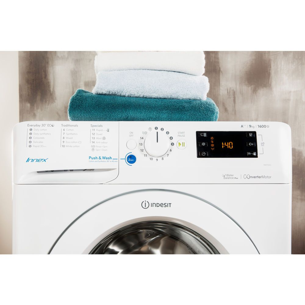 Indesit BWE 91683X W UK Washing Machine in White