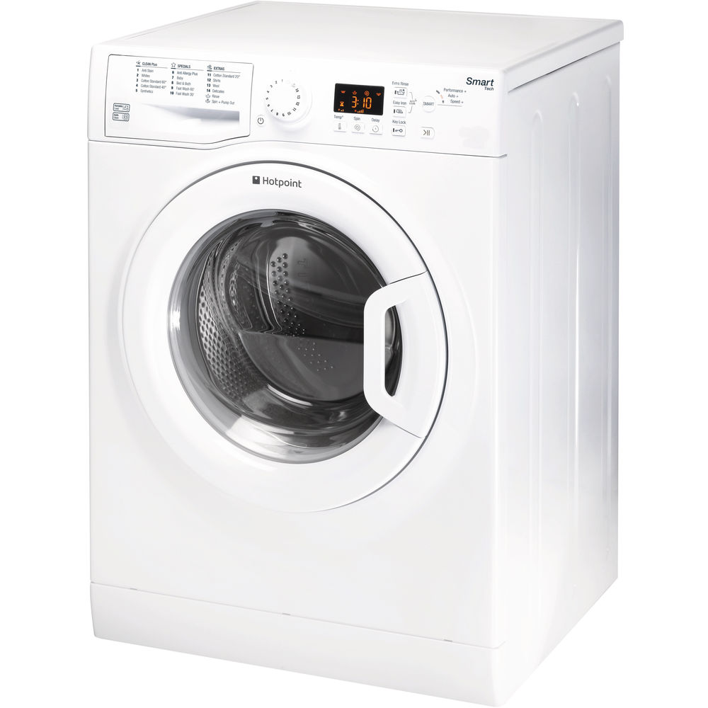 Hotpoint Smart Washing Machine WMFUG 963P - White
