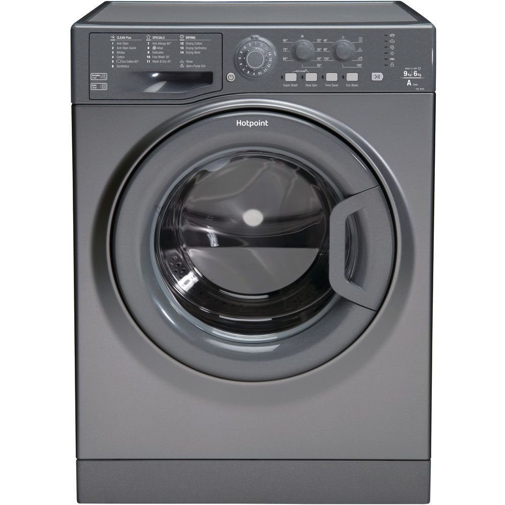 9kg: Hotpoint freestanding washer dryer