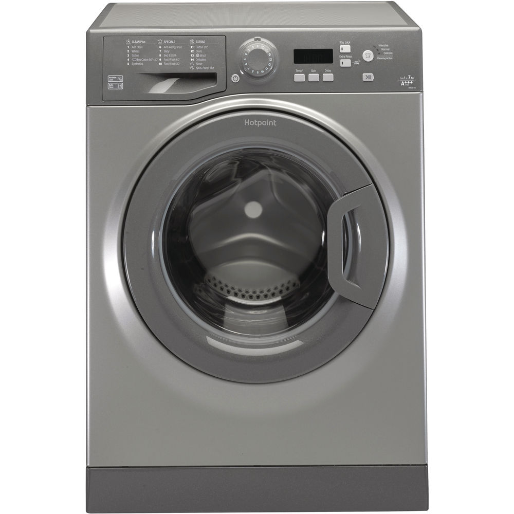 Hotpoint WMEUF 743G Washing Machine - Graphite