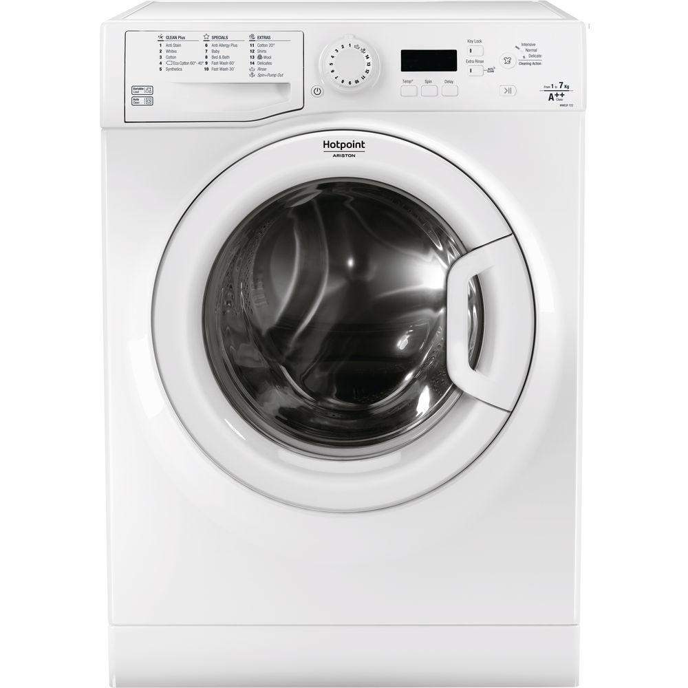 Hotpoint A++ WMEUF 722P Washing Machine - White