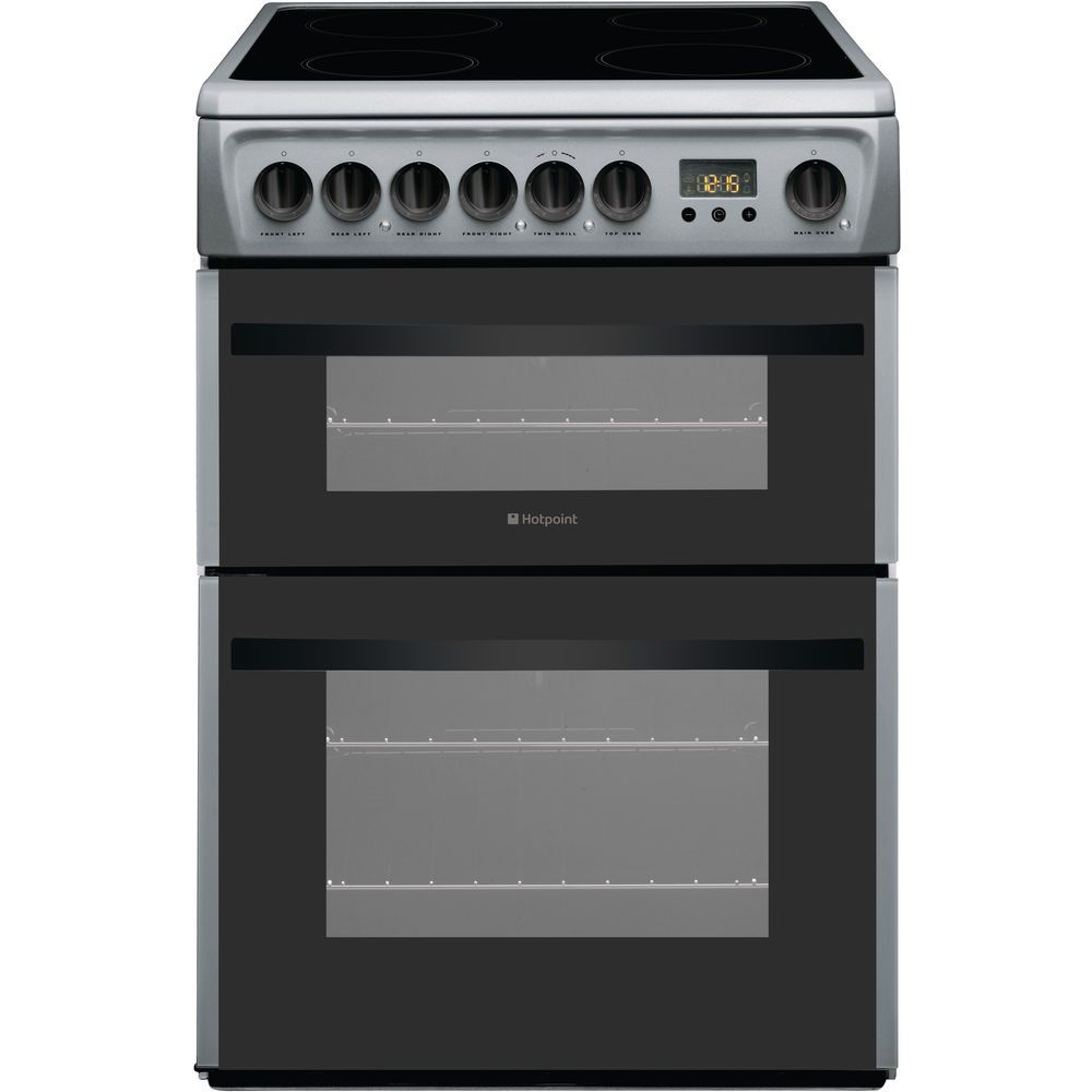Hotpoint Smart DCN60S Double Cooker - Silver