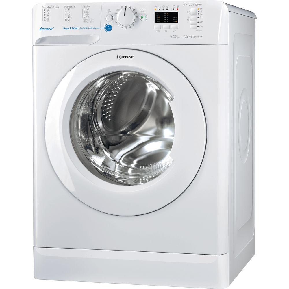 Schema Elettrico Lavatrice : Lavatrice a libera installazione a carica frontale indesit: 8 kg