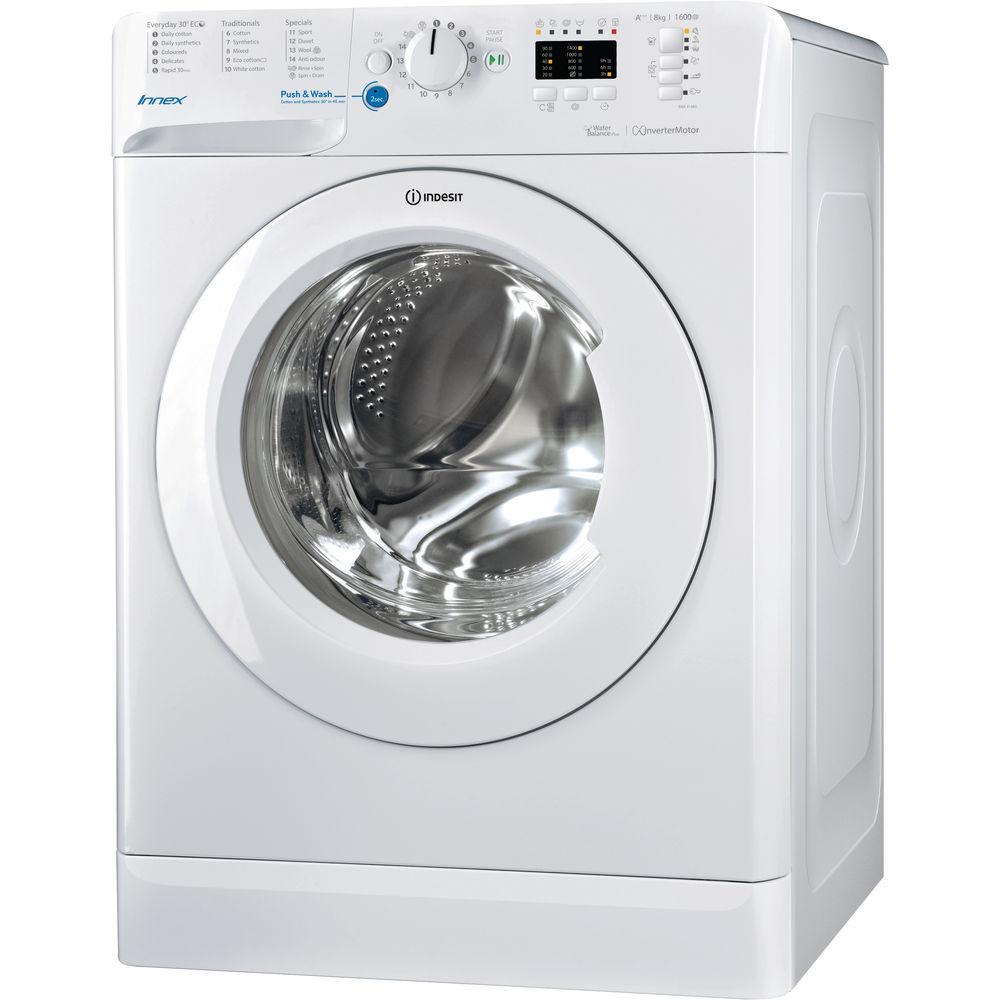 Indesit Innex BWA 81683X W Washing Machine - White