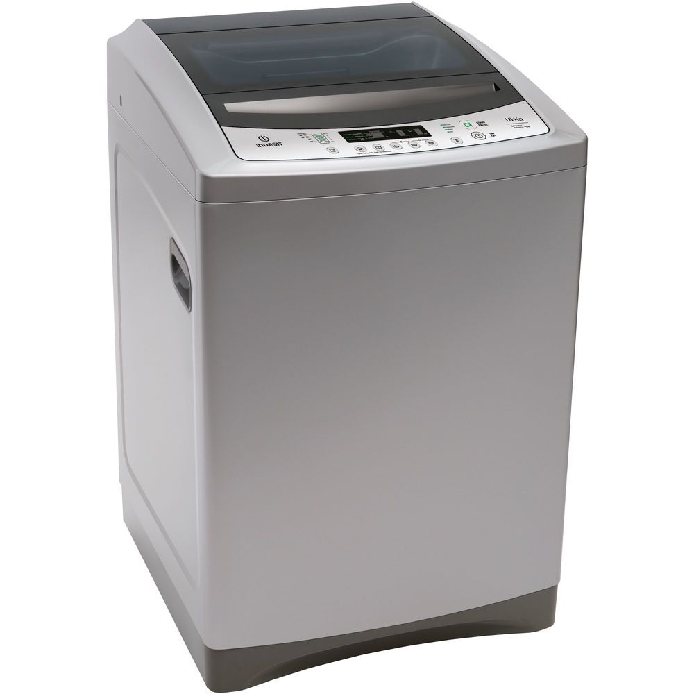 Indesit freestanding top loading washing machine: 16kg