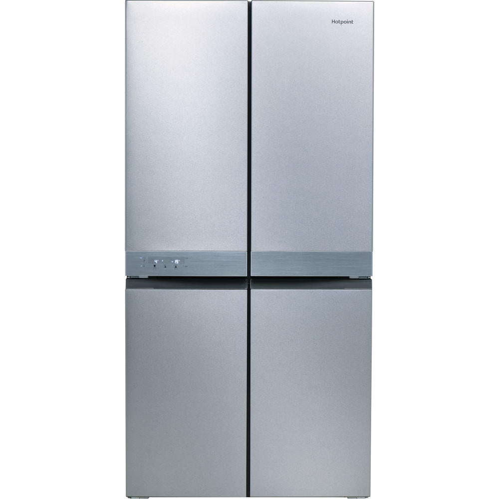 Hotpoint Day1 Active Quattro HQ9 B1L Fridge Freezer - Stainless Steel
