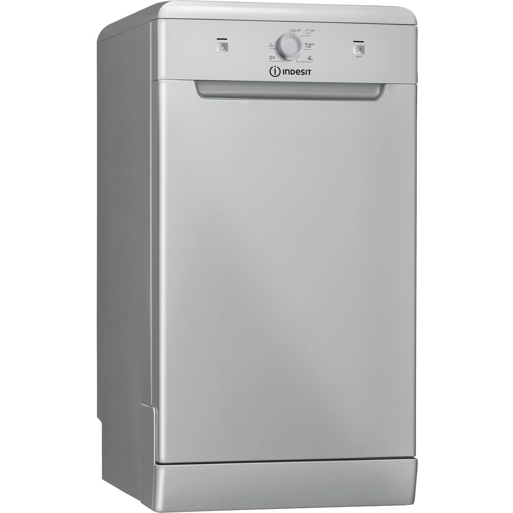 Indesit DSR 15B1 S Ecotime Dishwasher in Silver