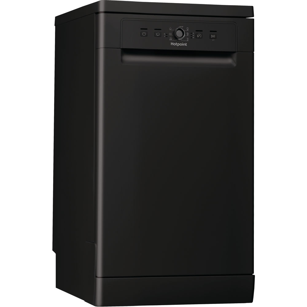 Hotpoint Aquarius HSFE 1B19 B Dishwasher - Black