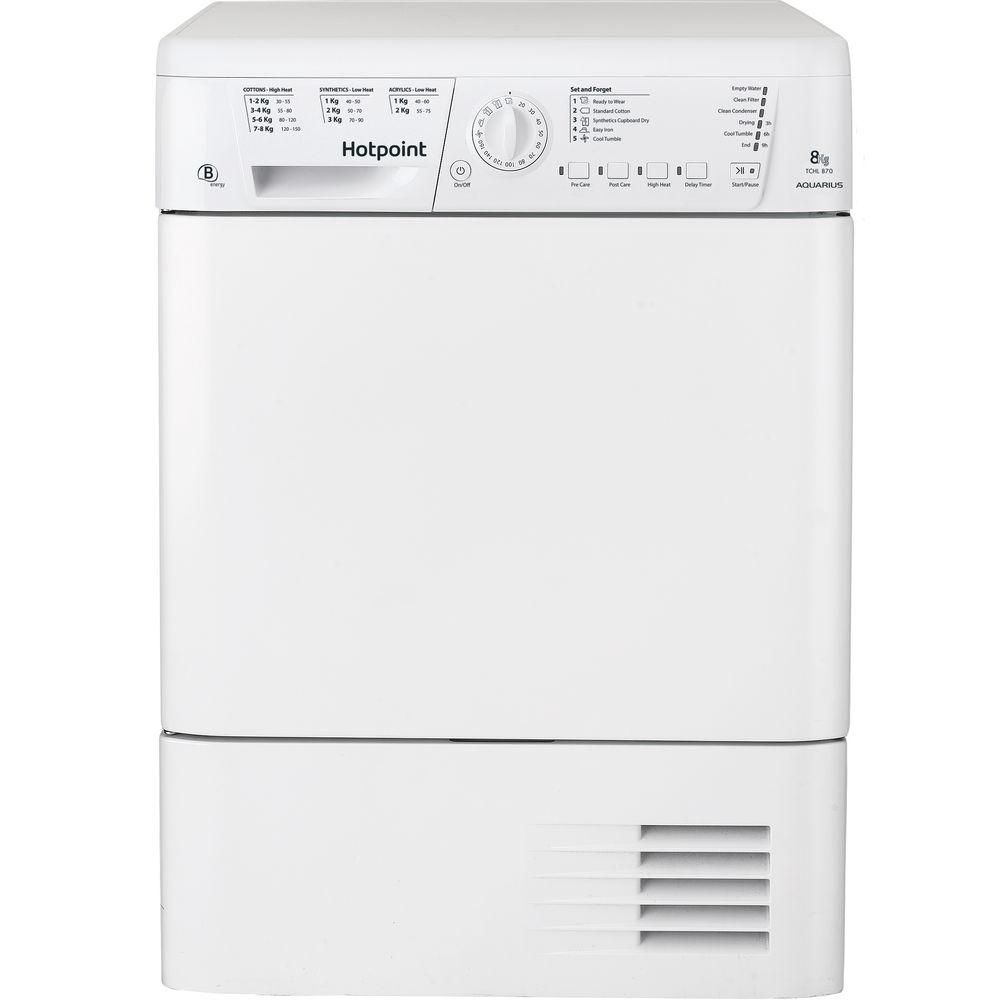 Hotpoint Aquarius TCHL 870 BP.9 Tumble Dryer - White