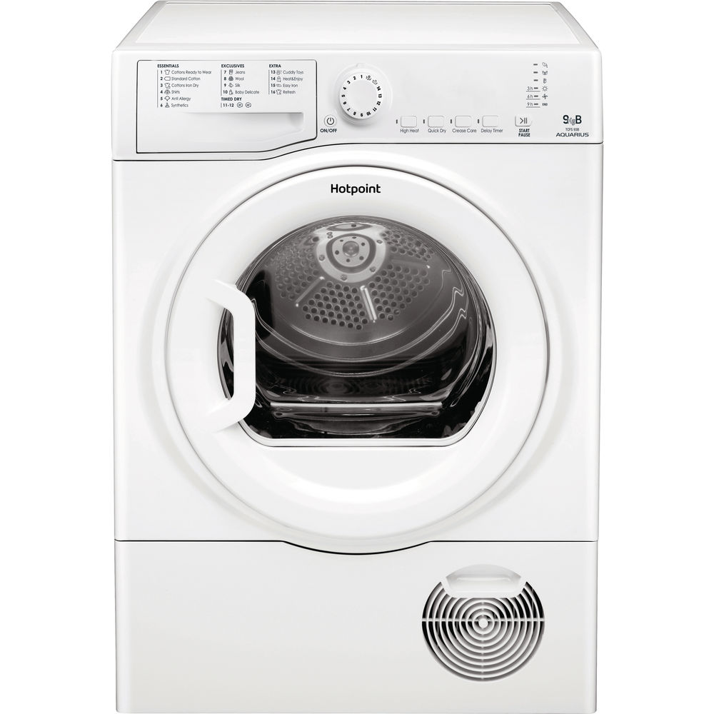 Hotpoint Aquarius TCFS 93B GP.9 Tumble Dryer - White