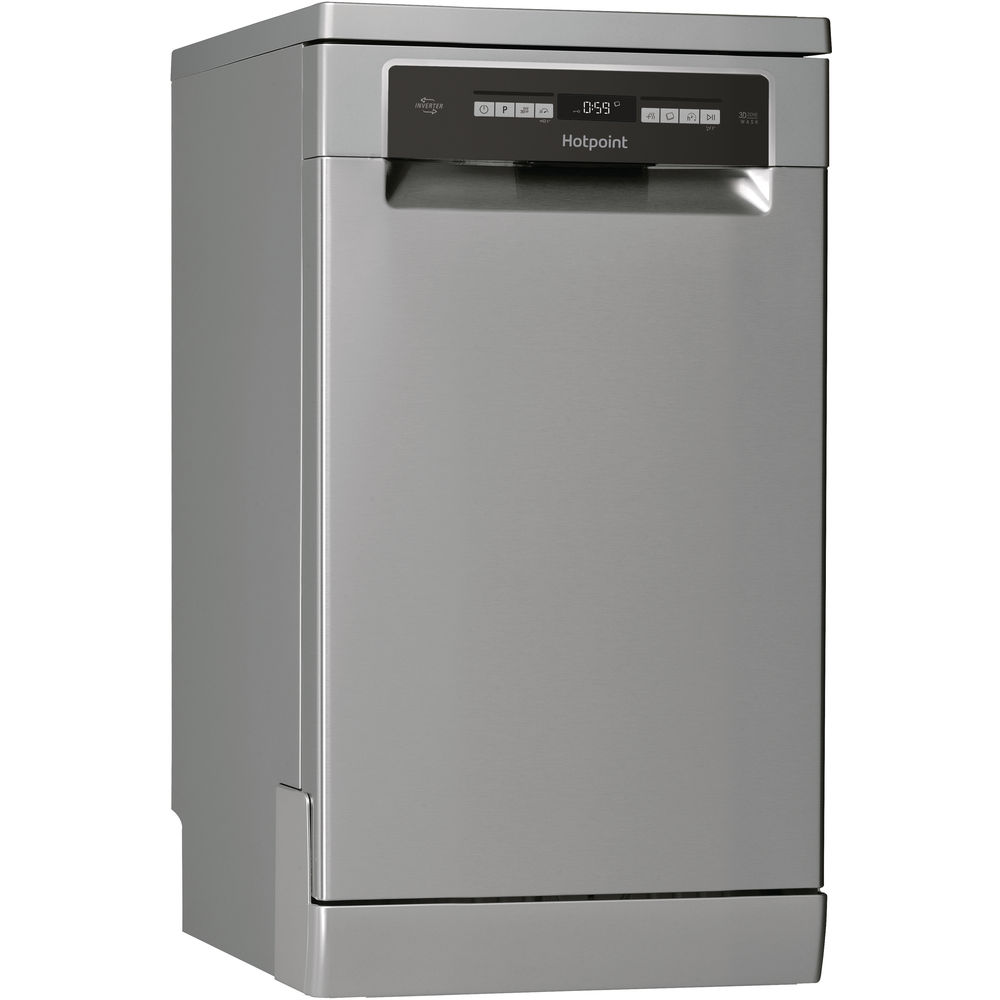Hotpoint Ultima HSFO 3T223 W X Dishwasher - Stainless Steel
