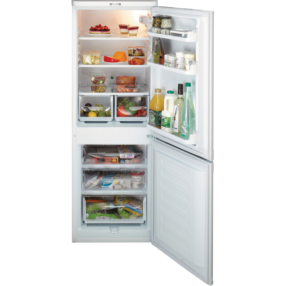 Hotpoint First Edition HBD 5515 W Fridge Freezer - White