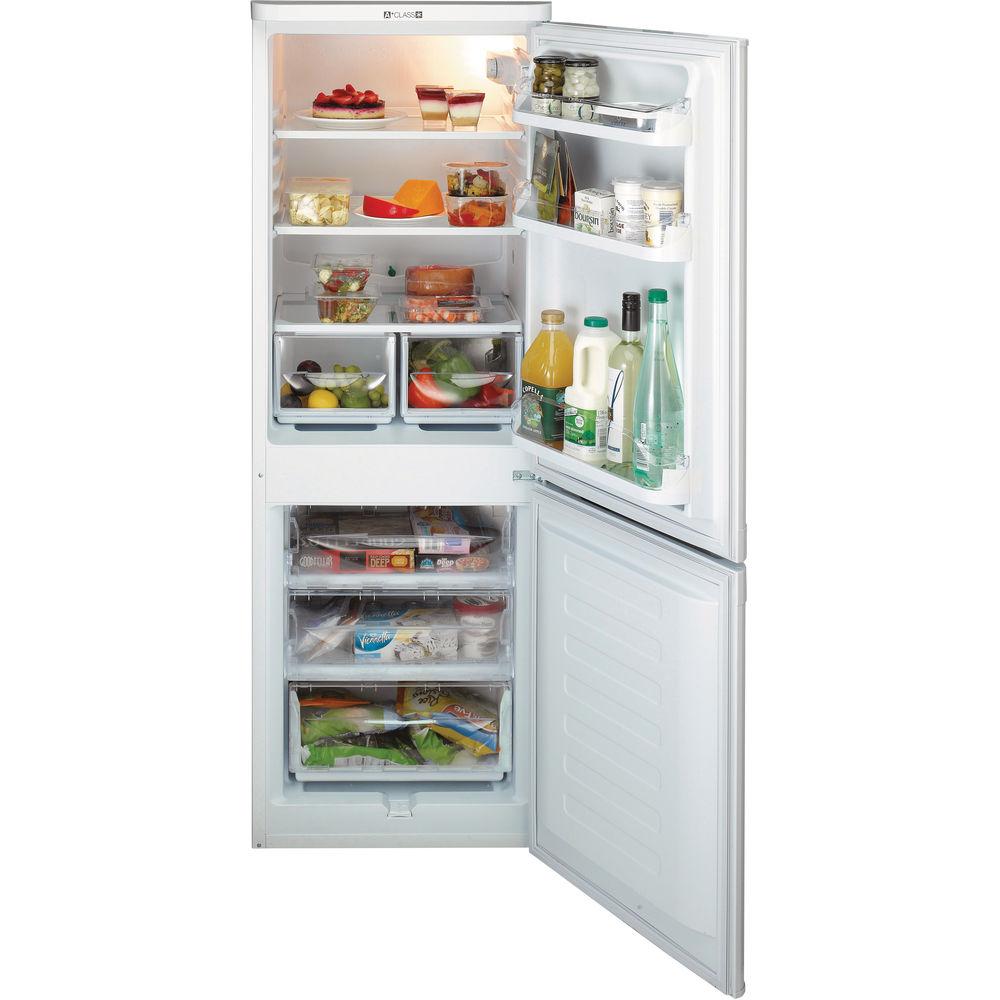 Hotpoint First Edition HBD 5515 S Fridge Freezer - Silver