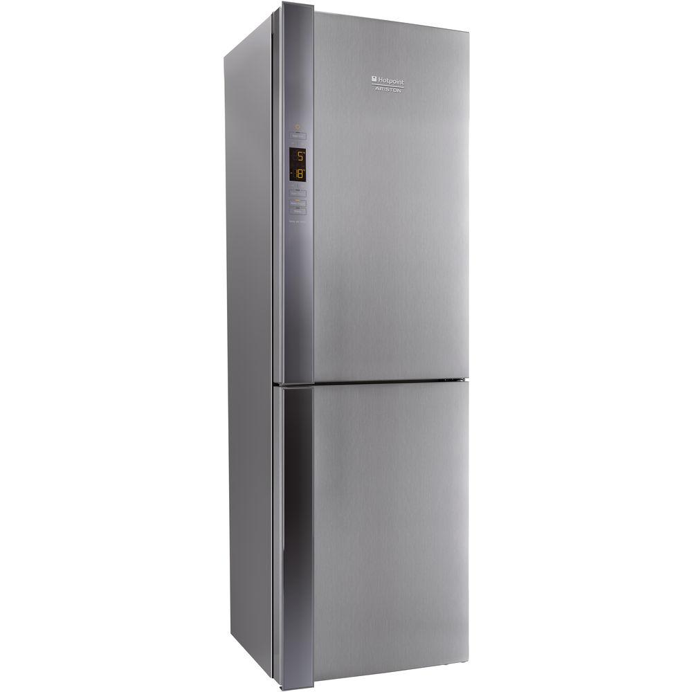 Hotpoint Day 1 XUL8 T2Z XOV.1 Fridge Freezer - Stainless Steel