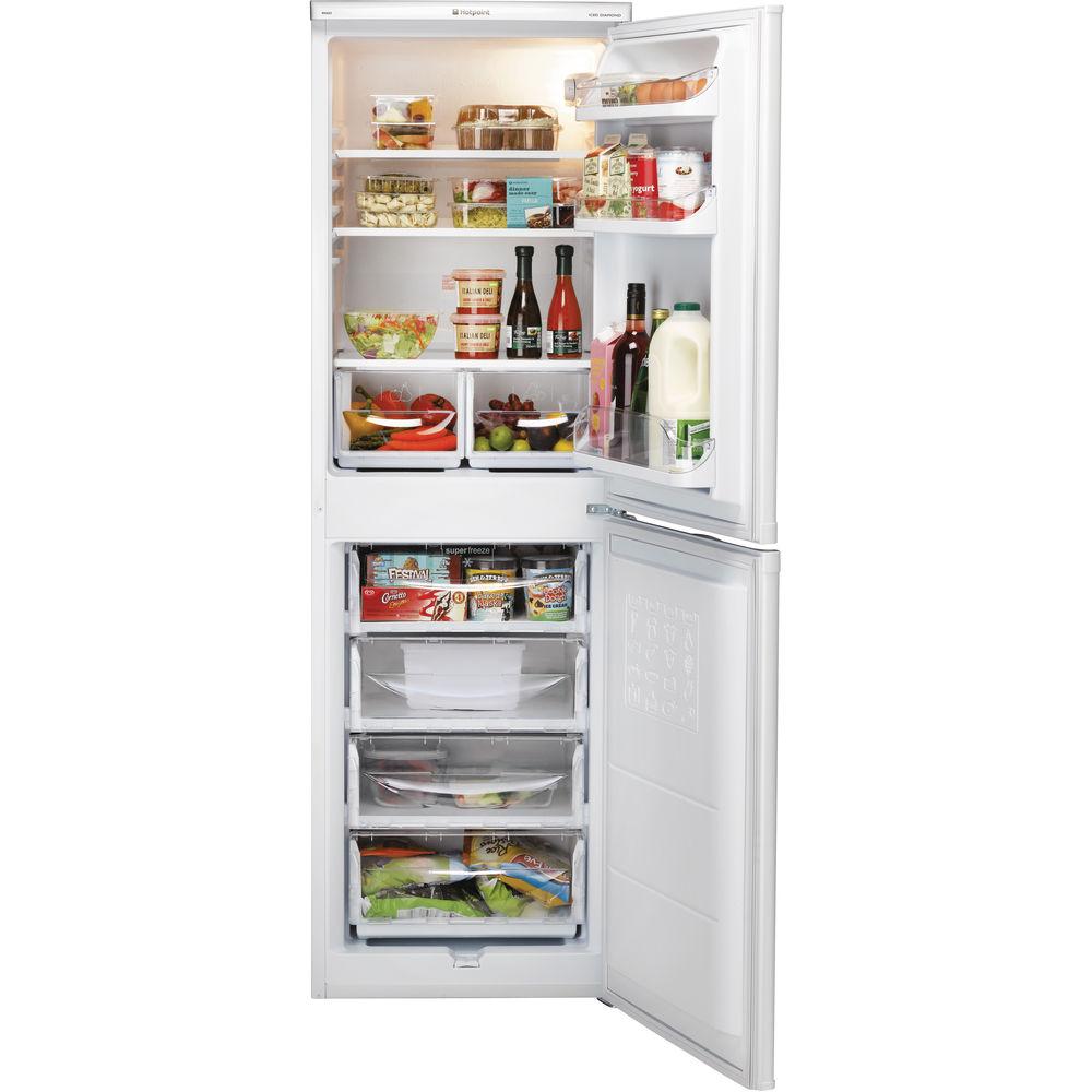 hotpoint first edition hbd 5517 w fridge freezer white hotpoint rh hotpoint co uk