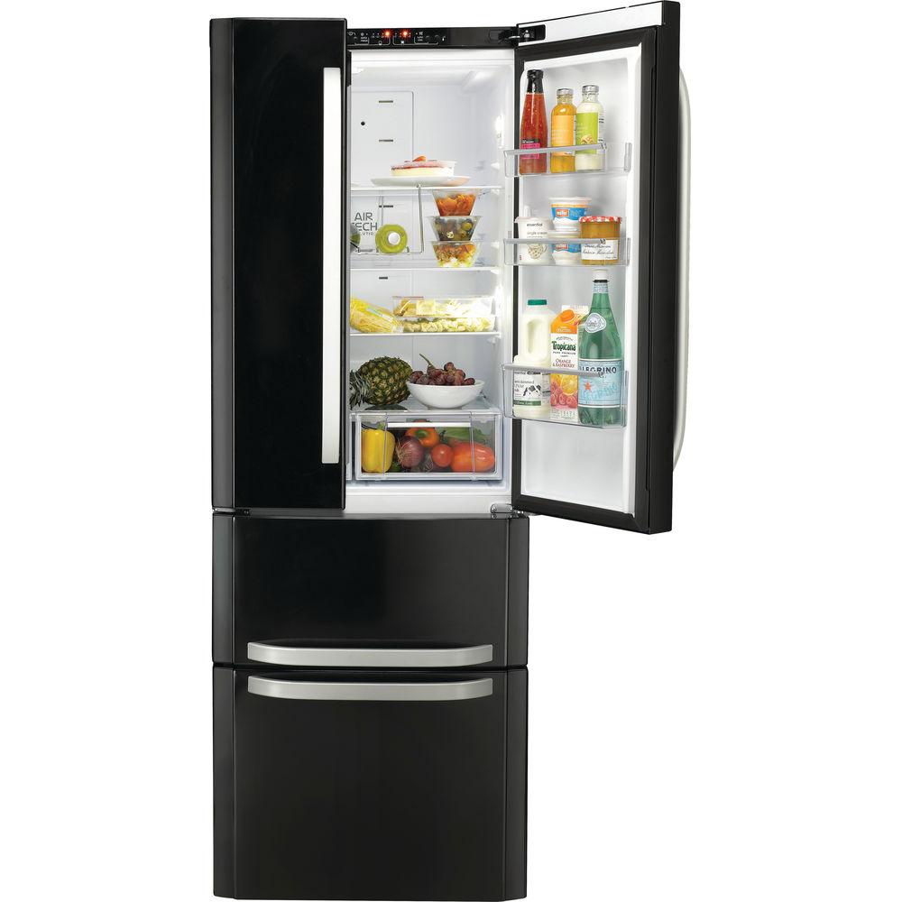 Hotpoint Day 1 FFU4D.1 K Fridge Freezer - Black