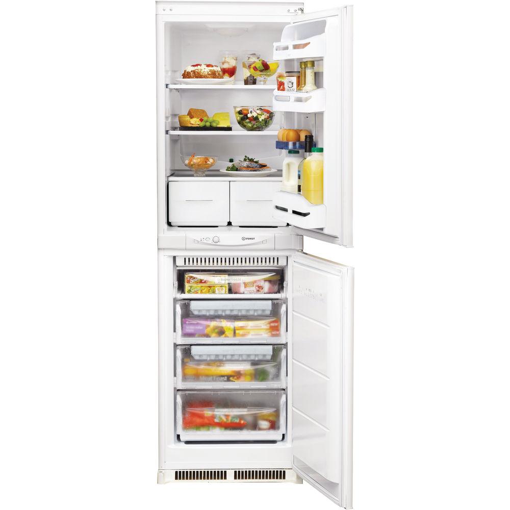 Indesit In C 325 Ff 1 Integrated Fridge Freezer In White