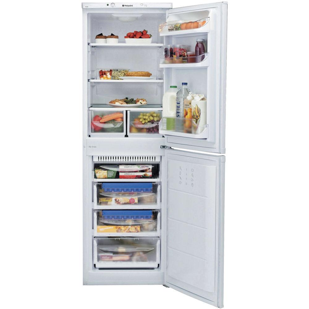 Hotpoint Aquarius HBNF 5517 W Fridge Freezer - White