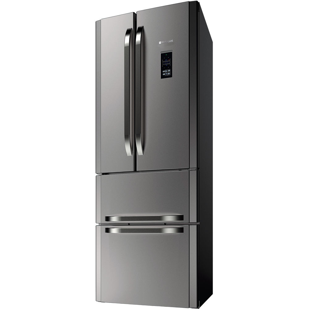 Hotpoint Day 1 FFU4DG.1 X MTZ Fridge Freezer - Stainless Steel