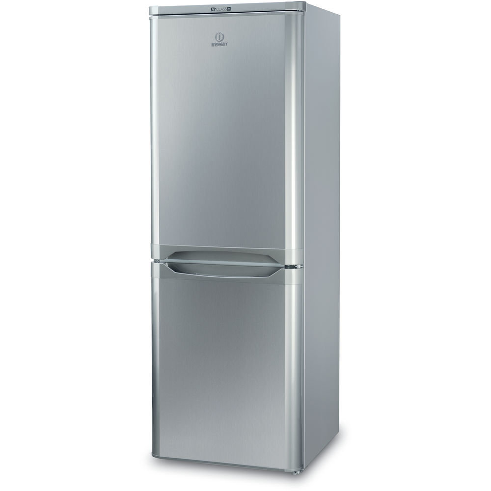 indesit ibd 5515 s fridge freezer in silver