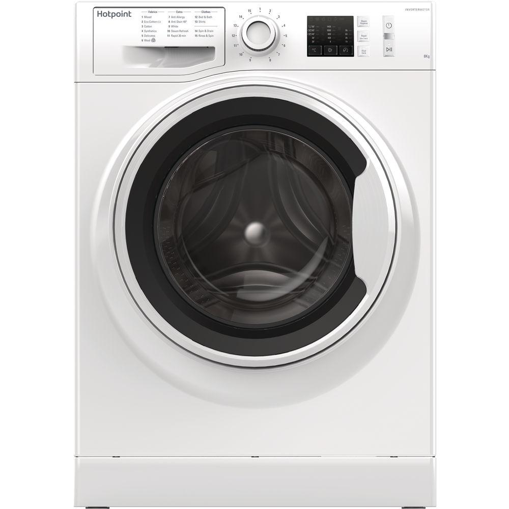 Hotpoint NM10 844 WW Washing Machine - White