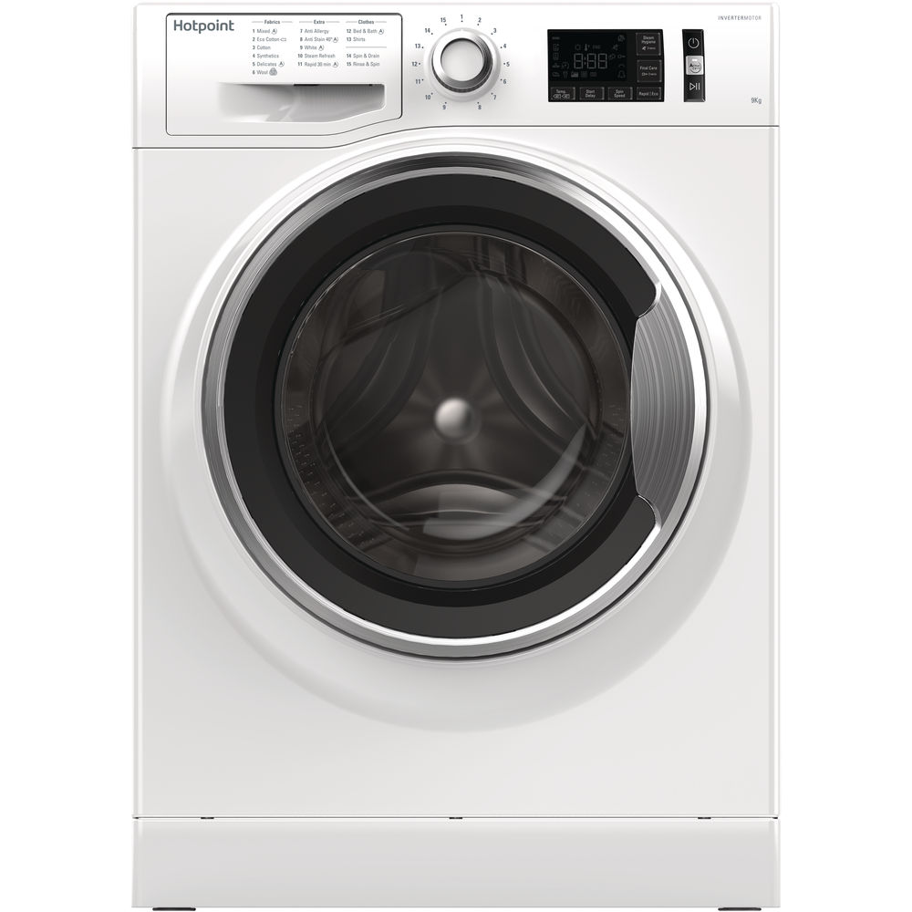 Hotpoint ActiveCare NM11 946 WC A Washing Machine - White