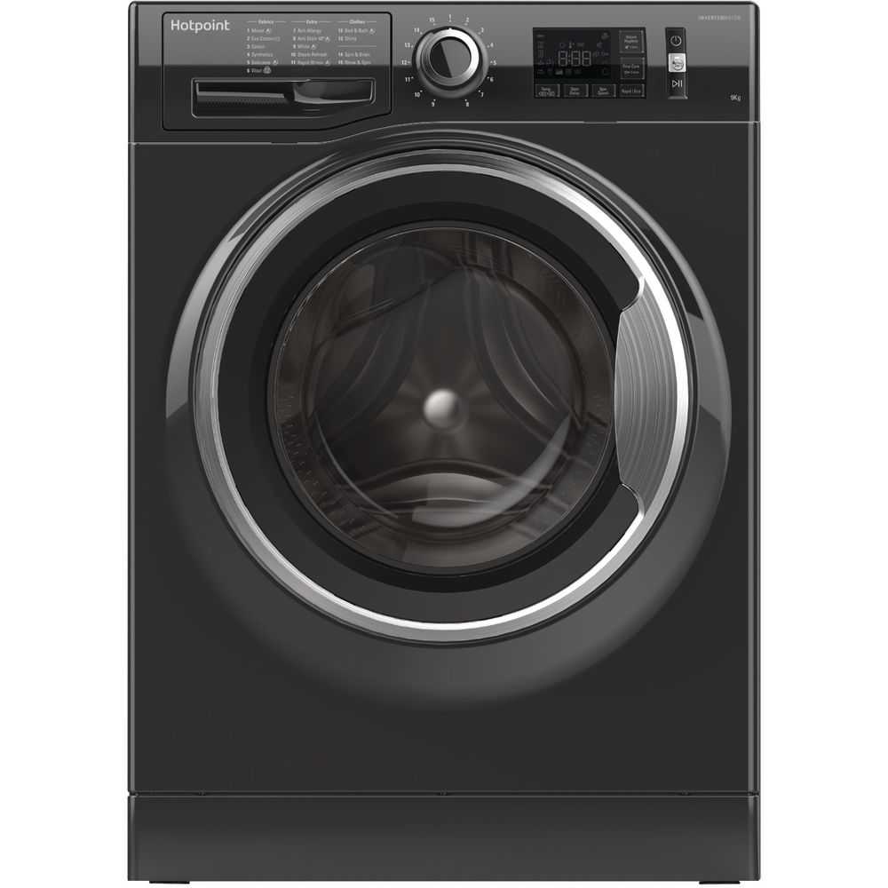 Hotpoint ActiveCare NM11 964 BC A Washing Machine - Black