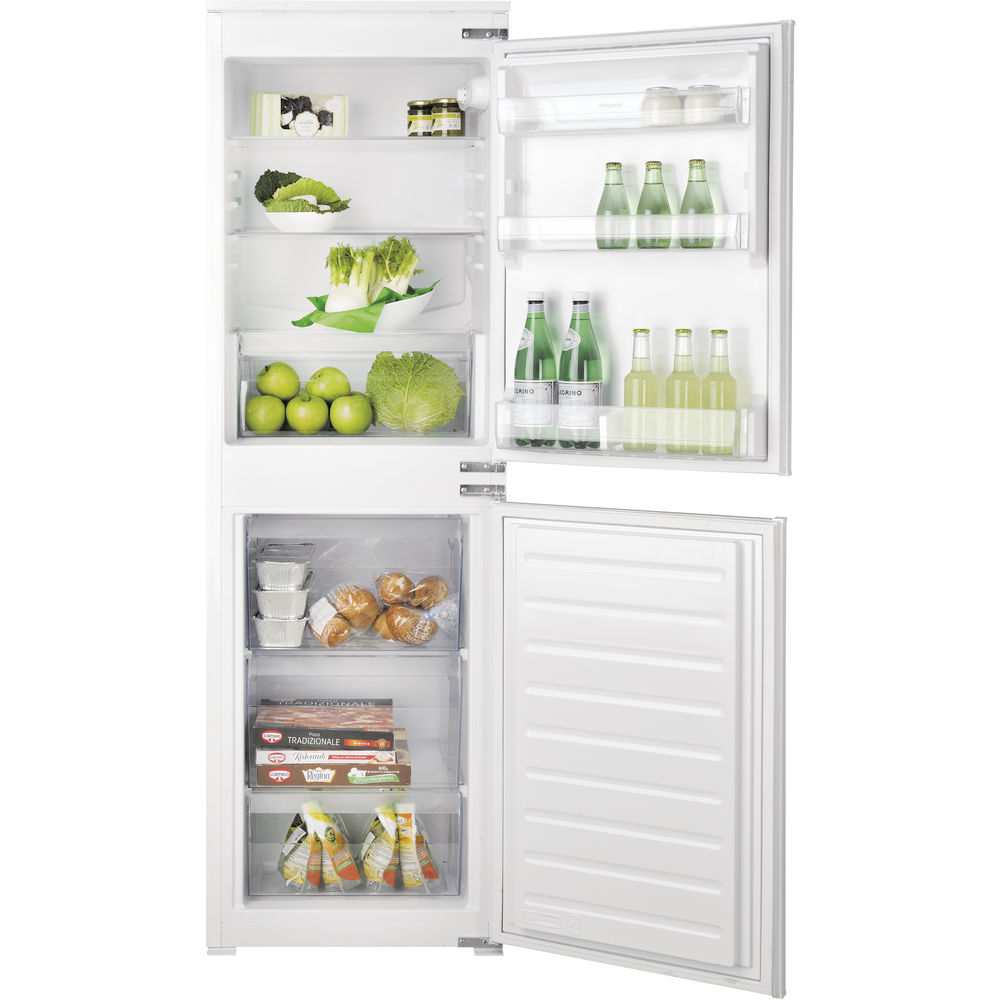 Hotpoint built in fridge freezer