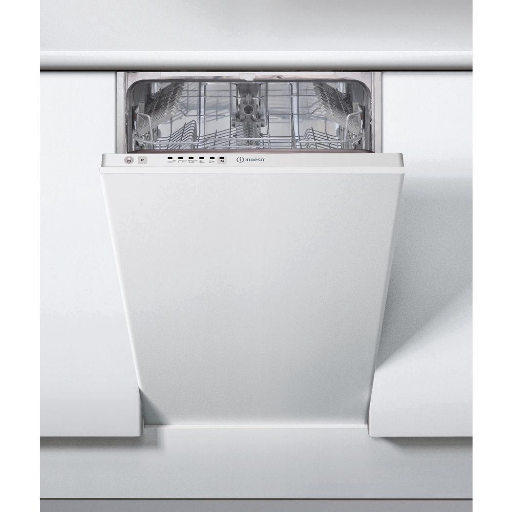 Lavastoviglie da incasso Indesit: slim, colore bianco - DSIE ...