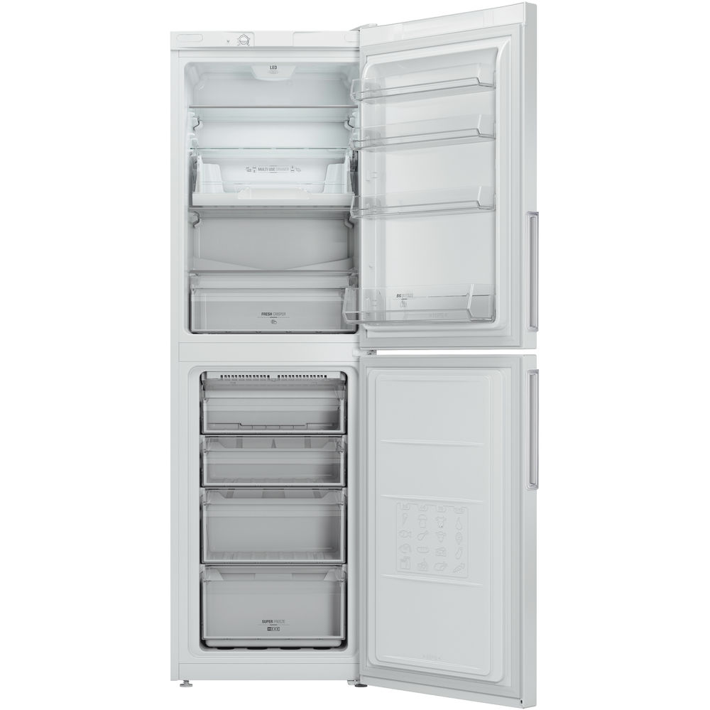 Hotpoint Day1 Extra LEX85 N1 W.1 Fridge Freezer - White