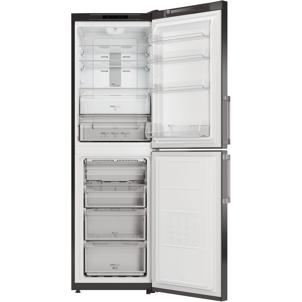 Hotpoint Day 1 XECO85 T2I GH.1 Fridge Freezer - Graphite