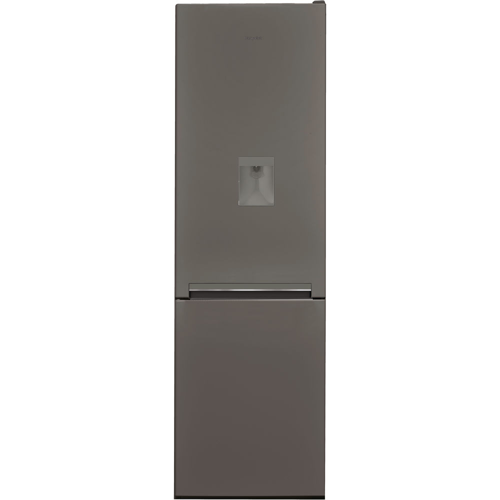 Hotpoint Day 1 H8 A1E SB WTD.1 Fridge Freezer - Gun Metal