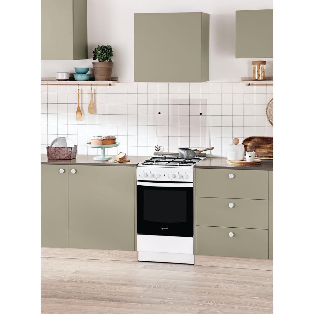 Cucina elettrica a libera installazione Indesit: 50 cm ...