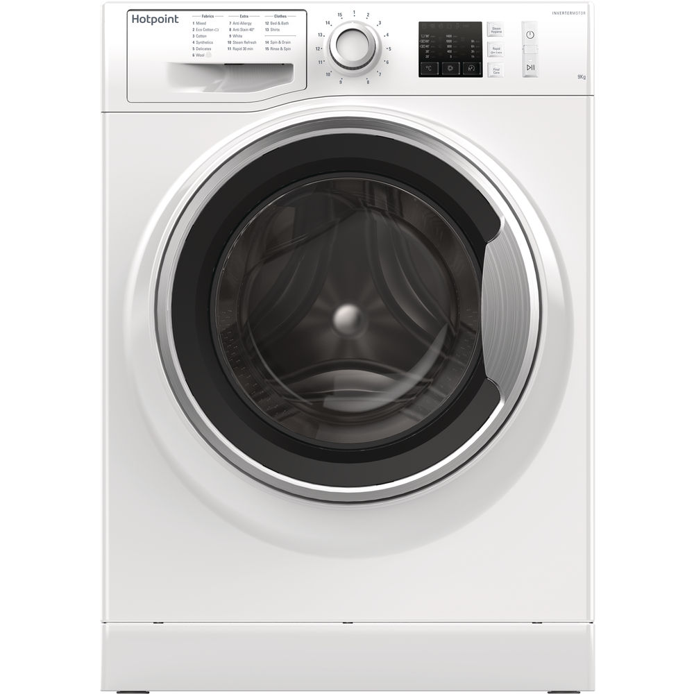 Hotpoint ActiveCare NM10 944 WS Washing Machine - White