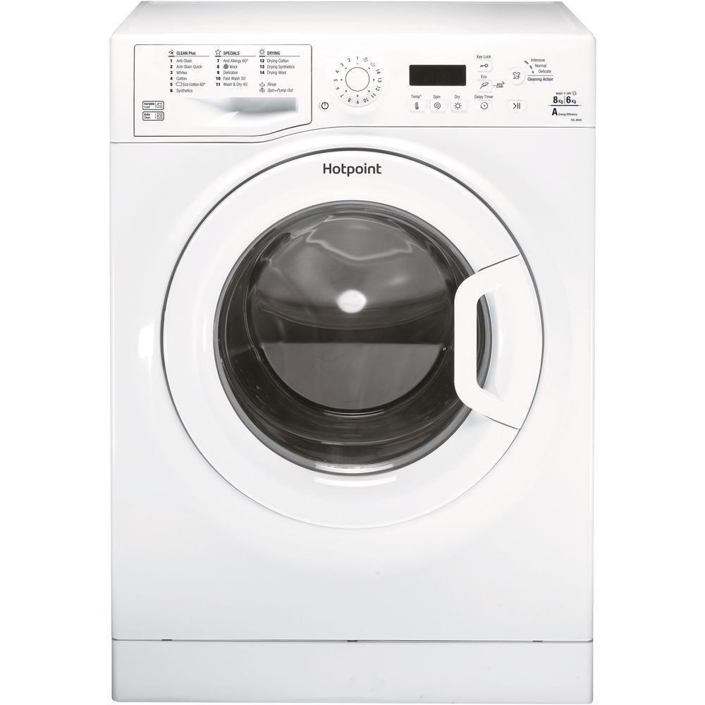 Hotpoint freestanding washer dryer: 8kg