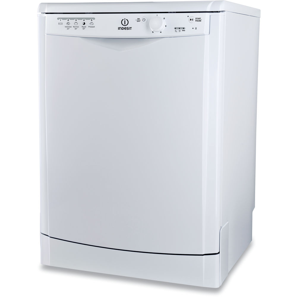 Dishwasher: full size, white colour