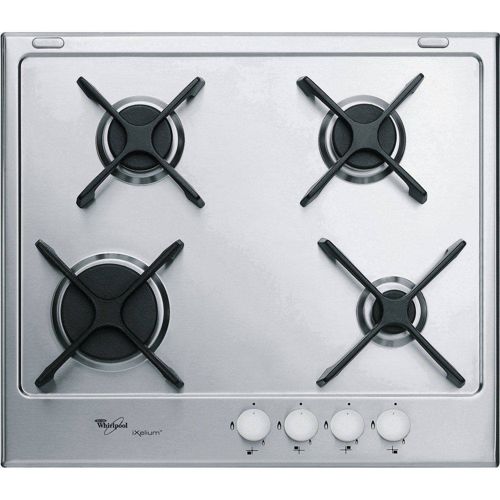 60cm iXelium™ stainless steel gas hob GMA 6414/IXL